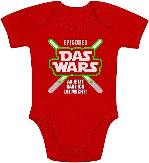 kurzarm Baby-Body Papa wars Bio-Baumwolle Moonworks®