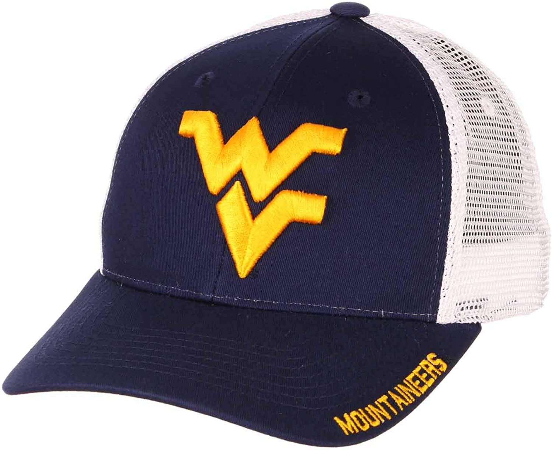 Northwestern Wildcats NCAA Adult Big Rig Structured Fit Meshback Adjustable Hat - Team Color