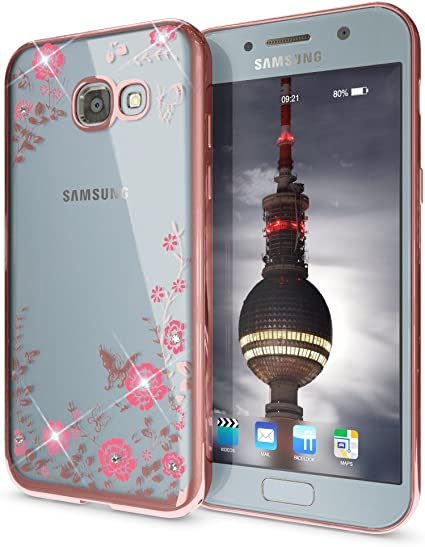 NALIA Strass Funda Compatible con Samsung Galaxy A5 2017 ...