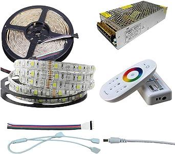 RGBW RGBWW 4 in 1 5050SMD 60Leds//m 300Led 5M LED Strip Light DC12//24V Waterproof