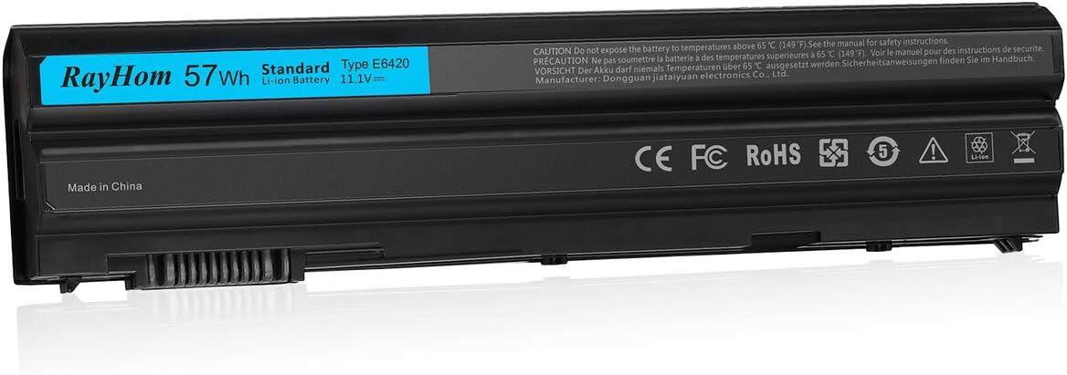 RayHom Replacement T54FJ E6420 Laptop Battery - for Dell Latitude E6420 E6430 E5420 E5430 E5520 E5530 E6520 E6530 Inspiron 14R 5420 15R 5520 7520 17R 5720 7720 P/N: M5Y0X 8858X T54F3 0T54FJ X57F1