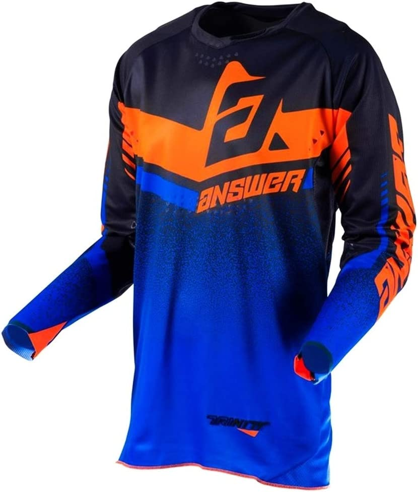 Medium Answer Racing A19 Syncron Drift Youth Boys Off-Road Motorcycle Jersey Flo Orange//Charcoal