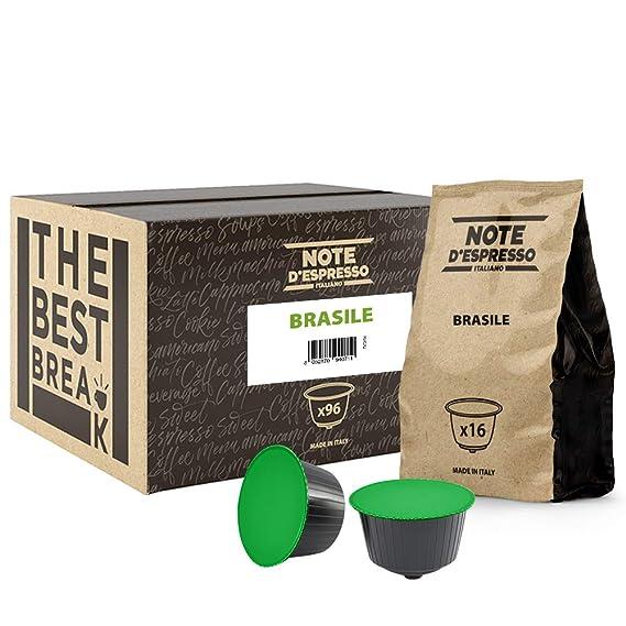 Note DEspresso - Cápsulas de café de Brasil compatibles con ...