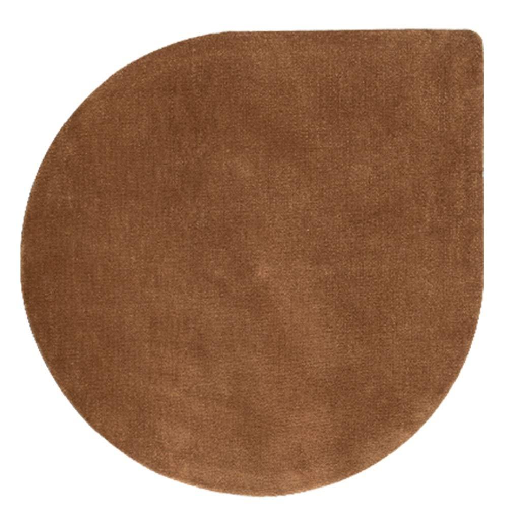 カーペット ラグノルディックラウンドカーペットソリッドカラーシックニング衣料品店ベッドルームベッドサイドスイベルチェアマット(4色) (色 : #3, サイズ さいず : 160cm) 160cm #3 B07PMRNTD6