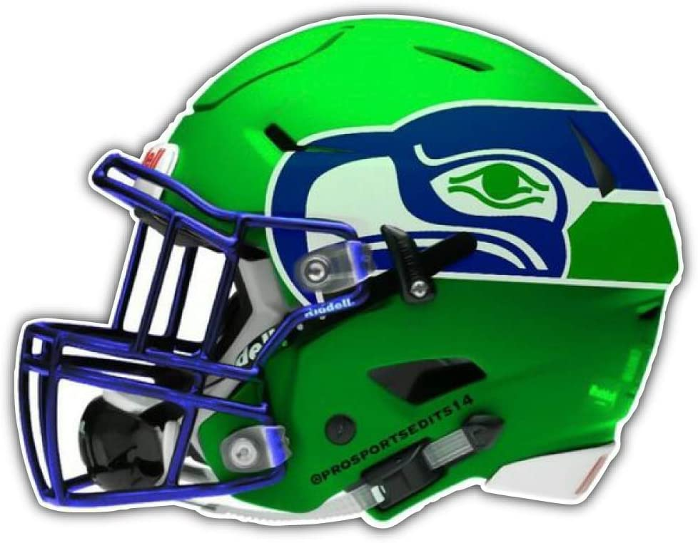 Small Seattle Seahawks Vinyl Decals Phone Helmet Small Stickers Set of 6