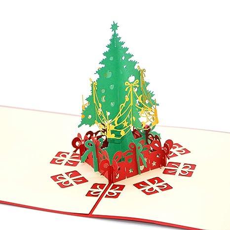 medigy Tarjetas de Navidad Tarjeta de felicitación pop up 3d ...