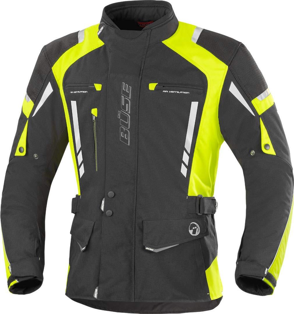 B/üse Torino Pro Motorrad Textiljacke 6XL Schwarz//Dunkelgrau