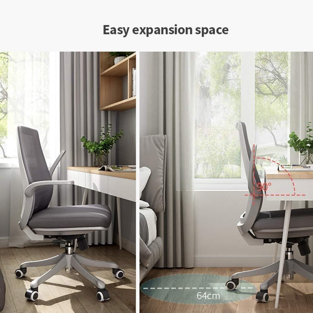 Barstolar Xiuyun kontorsstol spelstol ergonomi roterande stol, datorstol hushåll student svängbar stol multifunktion kontor lyftstol (färg: Stil 1) stil 1