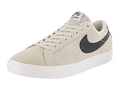 0973acd114a4 Nike Men s SB Blazer Vapor Summit White Obsidian Skate Shoe 9.5 Men ...