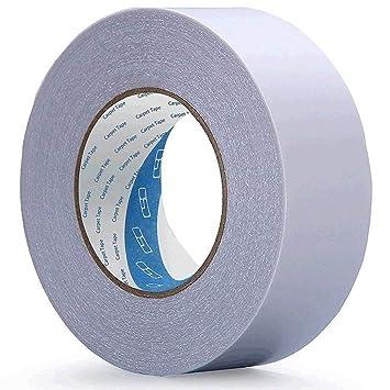 Cinta adhesiva de doble cara para alfombra de interior, extragruesa, gran resistencia, 30MM*25M: Amazon.es: Hogar