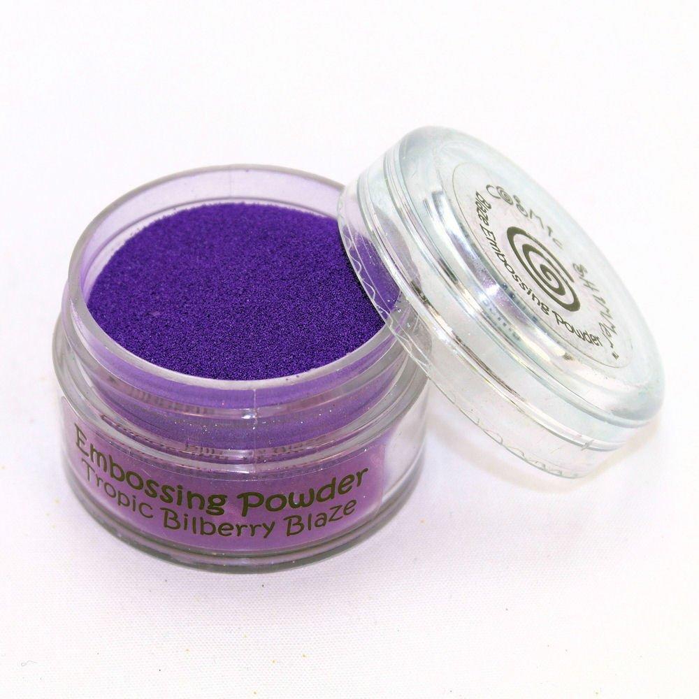 Cosmic Shimmer Blaze Embossing Powder 20ml - Tropic Bilberry