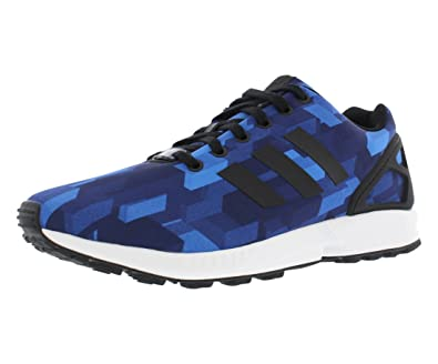 best service a0691 63342 ... uk amazon adidas zx flux print running mens shoes size 8.5 road running  4aa29 e6aea