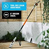 "VonHaus 40V Max 8"" Cordless Pole Saw with"