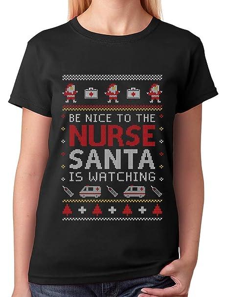 Nurse Christmas Sweater.Nurse Ugly Christmas Sweater Funny Nurses Xmas Gift Women T Shirt