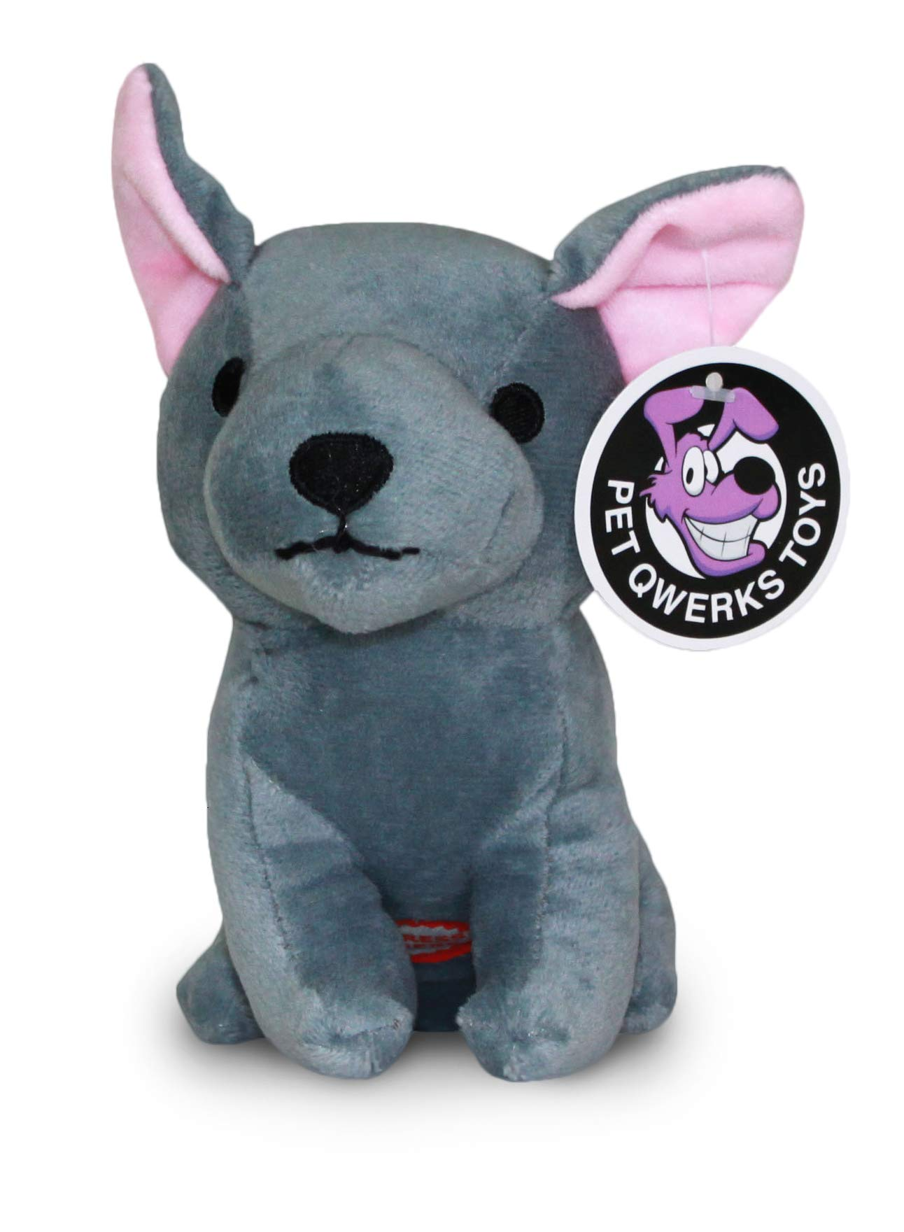 Pet Qwerks Dog Squeak Toys – Fun Interactive Squeaky Plush Pet Toy | with Cute Funny Sounds to keep boredom at bay…