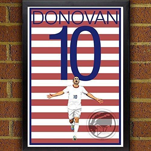 Landon Donovan United States Men's National Team Poster