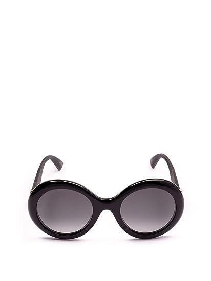 9582ef5e116 Gucci Women s Gg0101s001 Black Acetate Sunglasses  Amazon.co.uk  Clothing