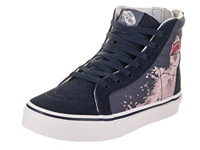 Vans Kids Sk8-Hi Zip VN0A3276R5N (Shark Attack) Dress Blues Vintage Indigo  Skate Shoes  Amazon.co.uk  Shoes   Bags 18905d02a