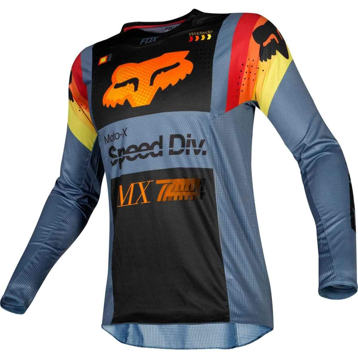 Fox Racing 2019 Youth 360 Murc Jersey-Blue Steel-YM 21742-305-M