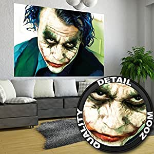 Amazon.com: Poster Joker Mural Decoration Heath Ledger