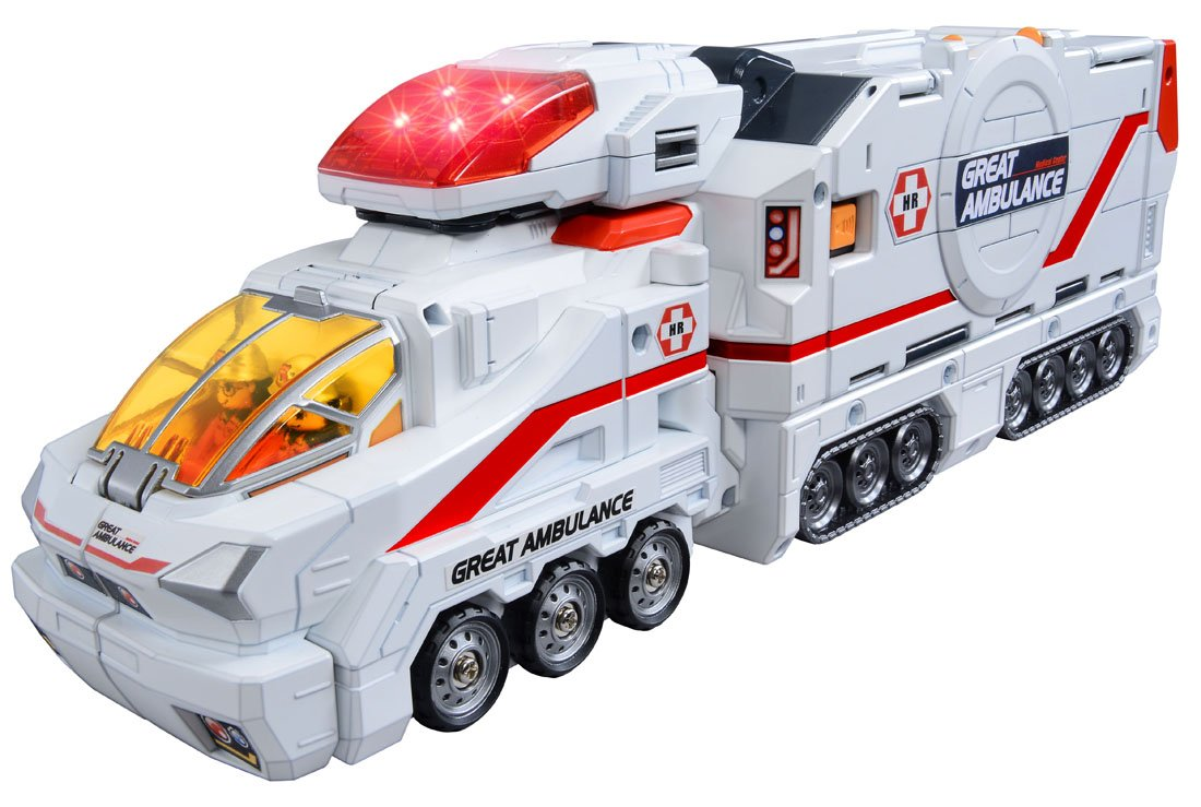 Tomica Hyper Rescue Hyper Rescue Great Ambulance Normal version TOMY Company Ltd