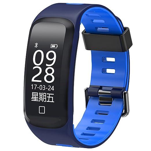 Hombre Smartwatches,30m impermeable Reloj deportivo Presión arterial Pulsómetro Contador de pasos Calorías Multifunción Led Simple Estudiante Relojes ...