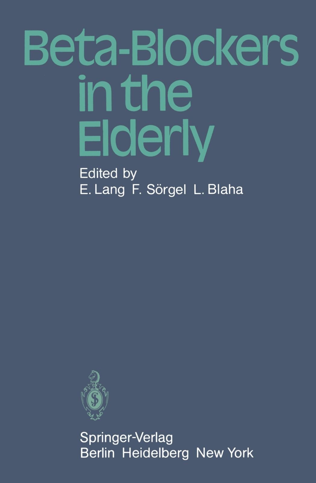 Beta-Blockers in the Elderly