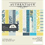 Authentique Paper FAV010 Bundle Cardstock Pad, 6 by 6-Inch, Favorite, 24-Pack