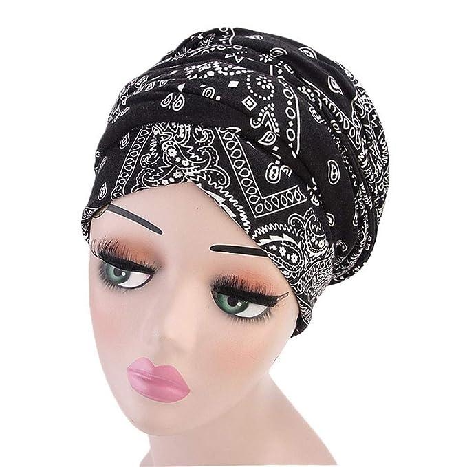 Ankola Women s Head Scarf Multipurpose Headwear for Cancer Chemo Hair Loss  Sleeping Night Cap Hair Scarves 4b5a05e37