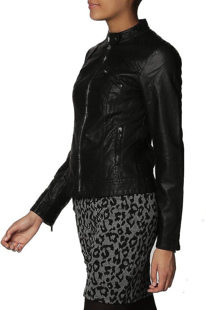 New Womens Motorcycle Genuine Leather Jacket Custom Made LTW143