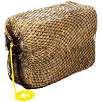Texas Haynet - 3 String Square Hay Bale Feeder - Slow Feed Nylon Net Hay Holder for Horses - American Made Square Bale…