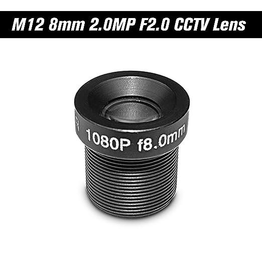 HD 2.0Megapixel 2MP 8mm M12 CCTV Lente de la cámara IP Lente de la ...