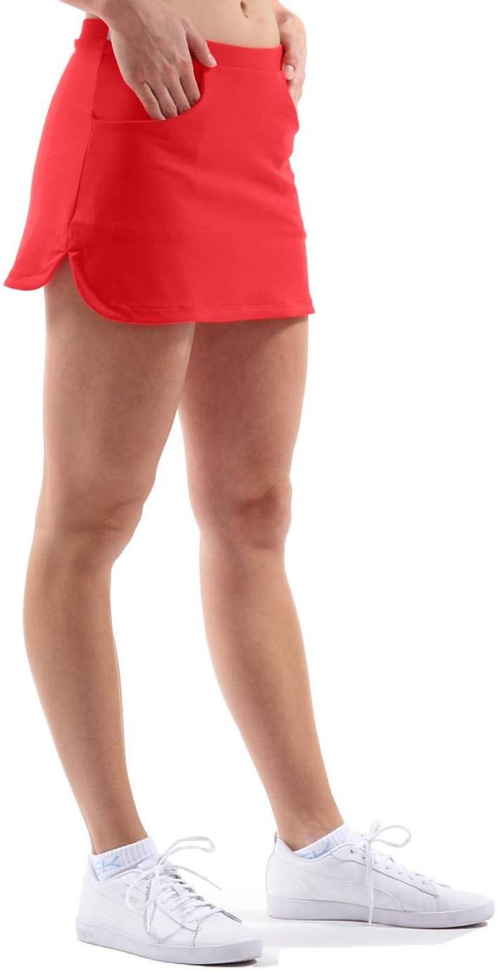 en Bleu Clair /à partir de Taille 110//à XXL SPORTKIND Sport Enfant Fille et Femme Tennis//Hockey//Sport Jupe pliss/ée avec int/érieur Pantalon Skort