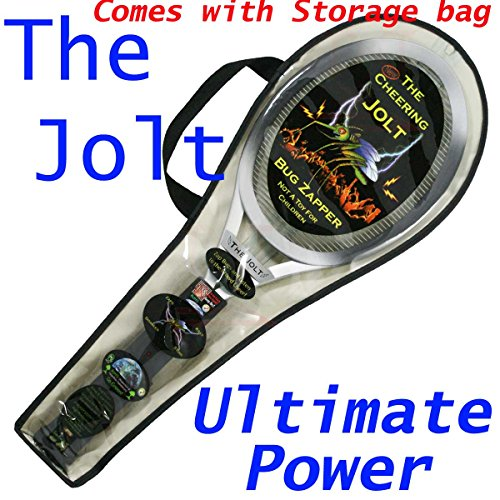 Jolt Bug Zapping Racket - Zapper, Model: Jolt-2AAs-TNTsales, Home & Garden Store