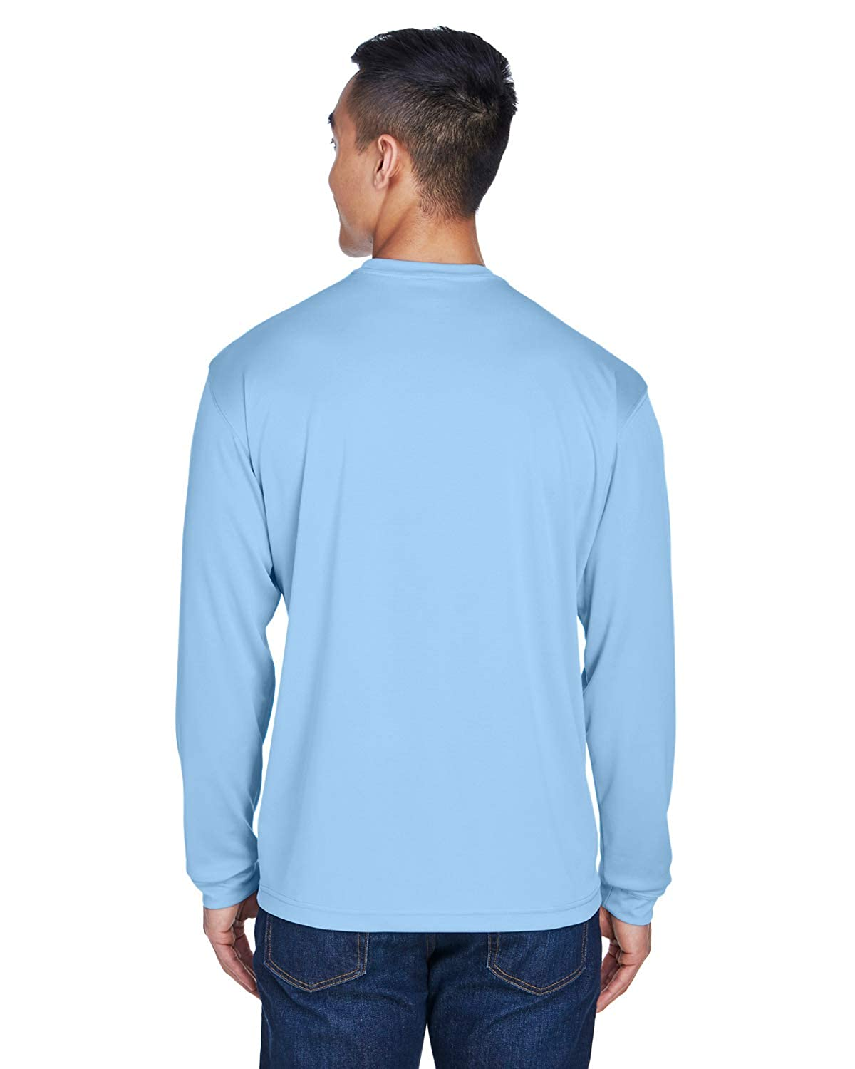 A Product of UltraClub Adult Cool /& Dry Sport Long-Sleeve T-Shirt Bulk Discoun