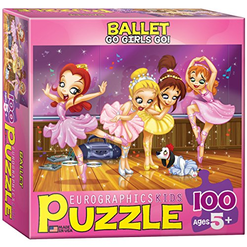 EuroGraphics Ballet Go Girls Go! Puzzle (100-Piece)
