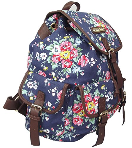 Space Cosmic Print Gold Rucksack light Girls Lydc Ladies Cosmos Floral Smith Shoulder Backpack Dark By Star black Bag Anna Blue 680qpgw6