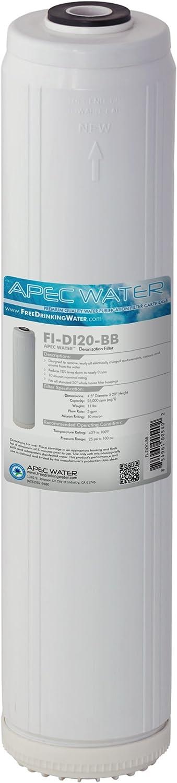 FI-DI20-BB APEC 20 Deionization Replacement Specialty Water Filter