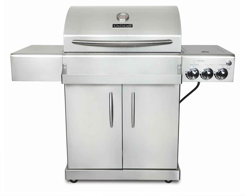 Amazon.com : Chef's Grill IR2818-1 61500 BTU Two Infrared Ceramic ...