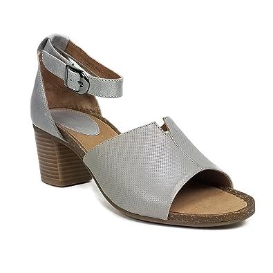 Amazon.com: Regarde leciel Coruna 03 sandalia de tacón: Shoes