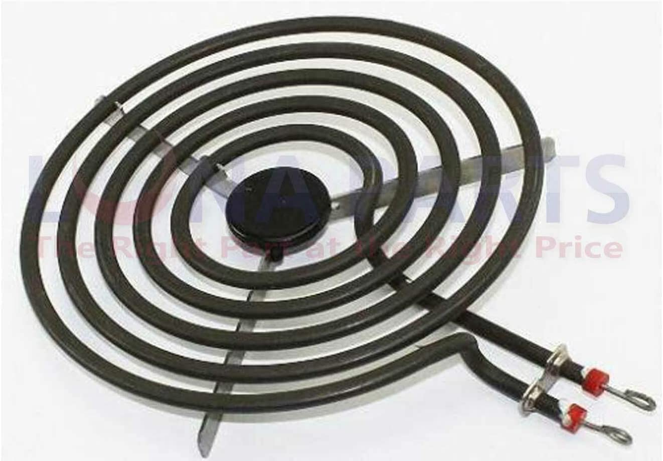 """Electric Range Stove Burner Surface Element Replacement 8/"""" 5 turn"""