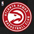 "Sports and Tailgating NBA Party Atlanta Hawks Luncheon Napkins Tableware, Paper, 6"" x 6"", Pack of 16"