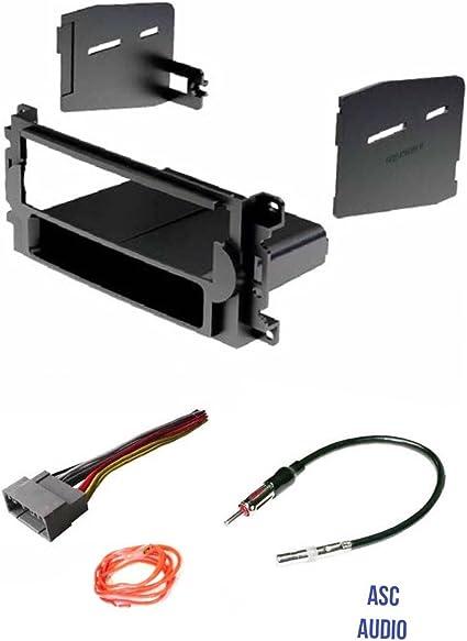 Chrysler Dodge Jeep Single Din Dash Kit for Radio Stereo Install Installation