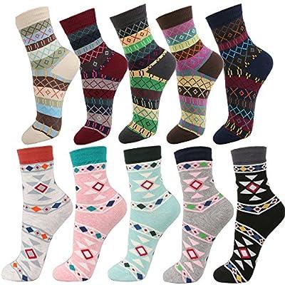 Women's Multi-Pattern Fashion Cotton Ankle Socks