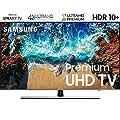 "Samsung UN75NU8000 75"" NU8000 Smart 4K UHD TV (2018 Model) – (Certified Refurbished)"