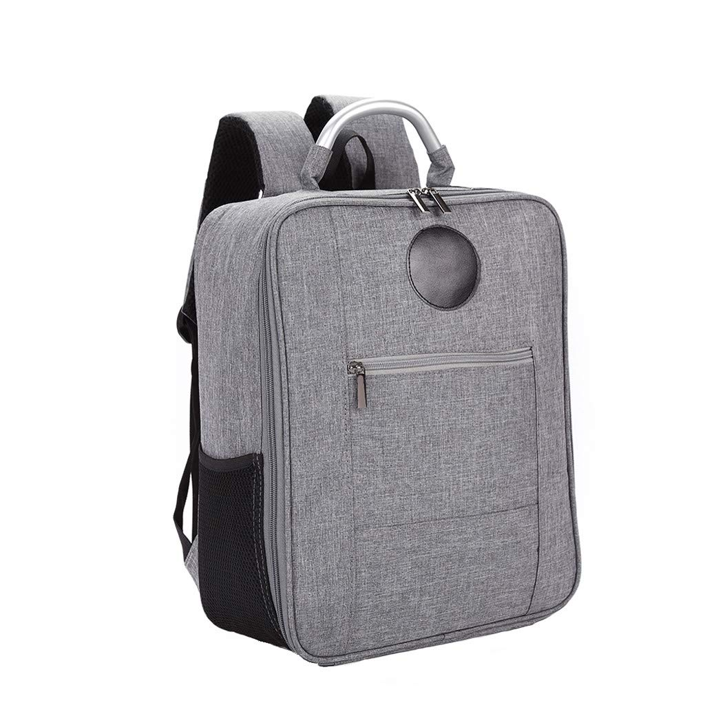 Waterproof Anti-Collision Shoulder Bag for Xiaomi Fimi A3 Drone Outdoor Storage,10.8 X 6 X 14.8 inch,Gray