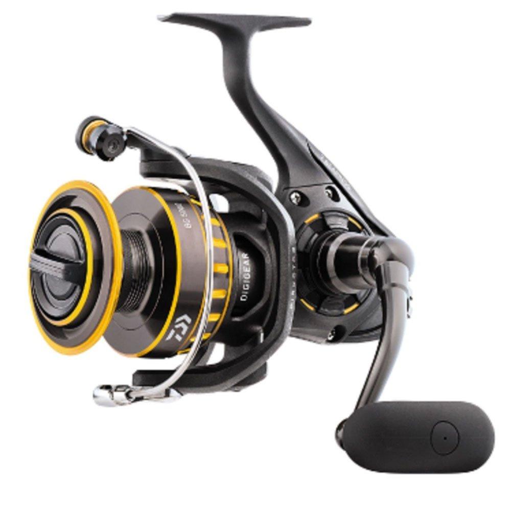 Daiwa BG3500 BG Saltwater Spinning Reel, 3500, 5.7: 1 Gear Ratio, 6+1 Bearings, 38.50'' Retrieve Rate, 17.60 lb Max Drag