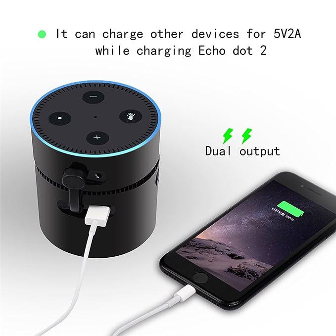 Amazon.com: addprime 2 en 1 cargador móvil de la energía ...