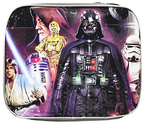 Star Wars Darth Vader Themed Lunch Box! - Insulated - Reusable Lunch Box for Kids! by Lucas Film
