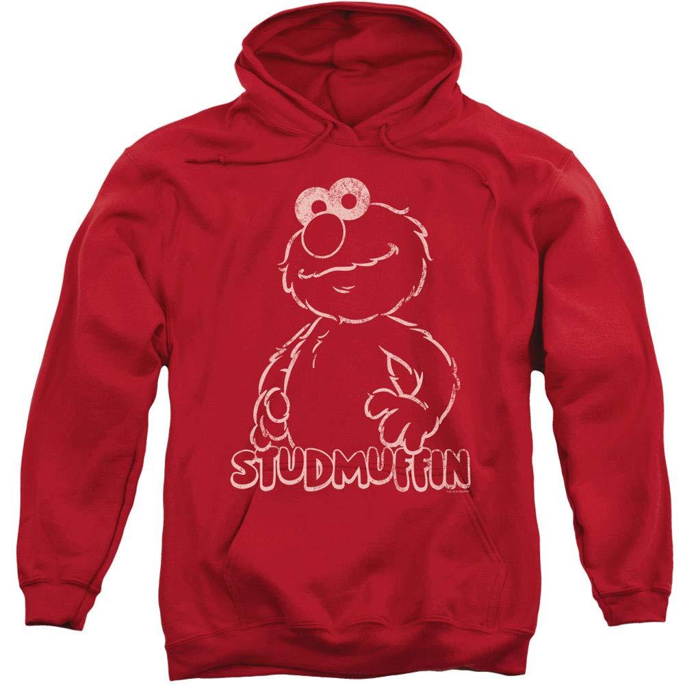XXL Sesame rue - Sweat-Shirt à Capuche - Manches Longues - Opaque - Homme Rouge rouge